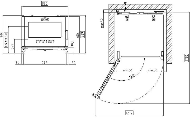 Схема UNOX XBC 405 E