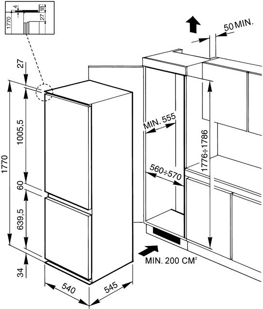 Схема монтажа Smeg CR325P1