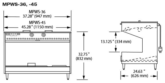 Схема Hatco MPWS-36