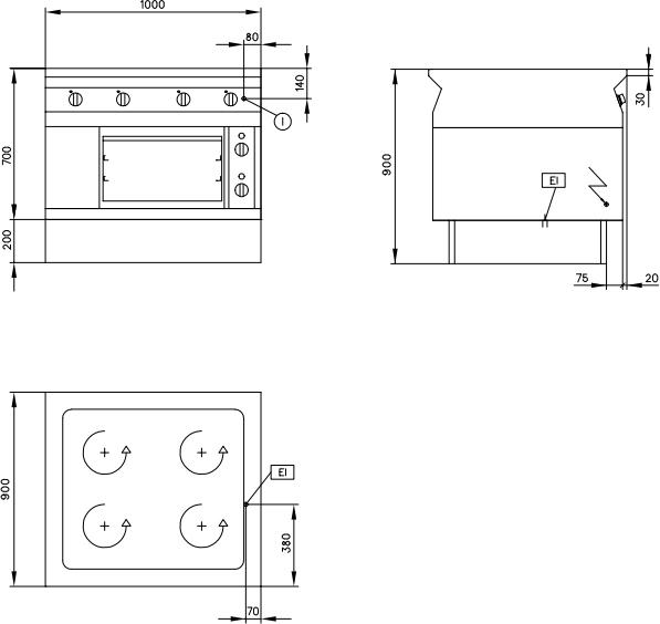 Схема Electrolux Professional