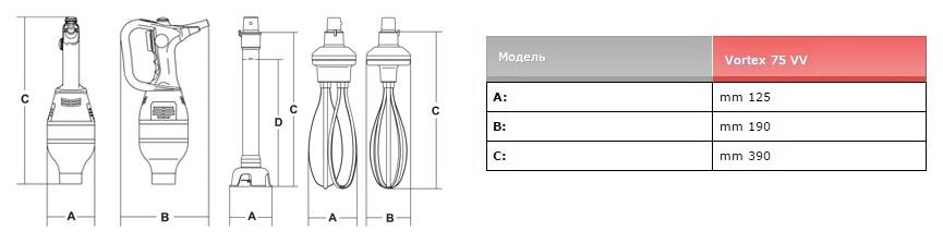 Схема на ручной миксер
