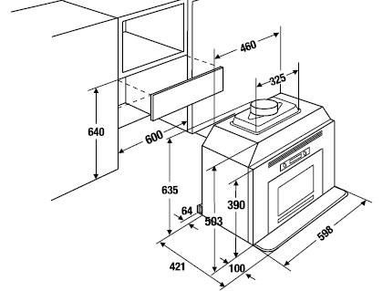 Схема монтажа микроволновой