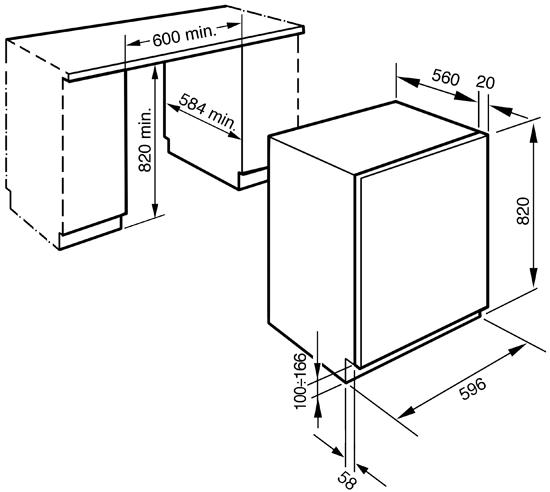 Схема монтажа на LST147